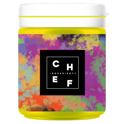 Chef Ingredients Food coloring Fats Yellow 20g