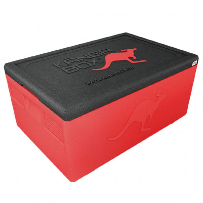 Kängabox thermobox Expert GN1/1 46l red