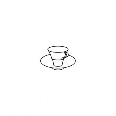 Hering Berlin Outline Platinum Cup ø7cm 50ml