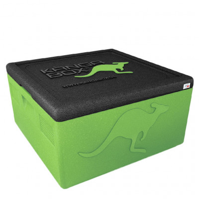 Kängabox thermobox Easy S 32l lime