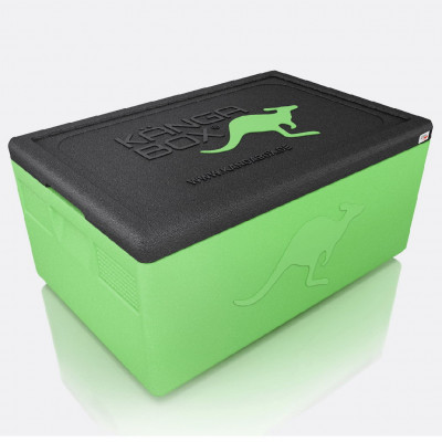 Kängabox thermobox Expert GN1/2 19l lime