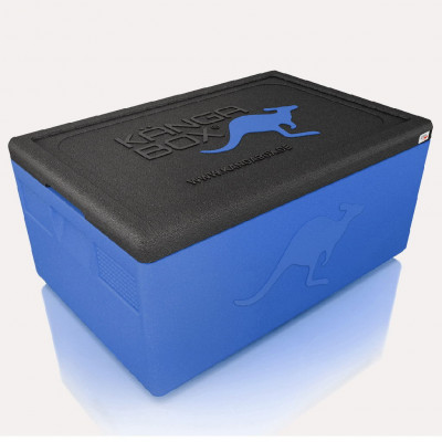 Kängabox thermobox Expert GN1/2 19l blue