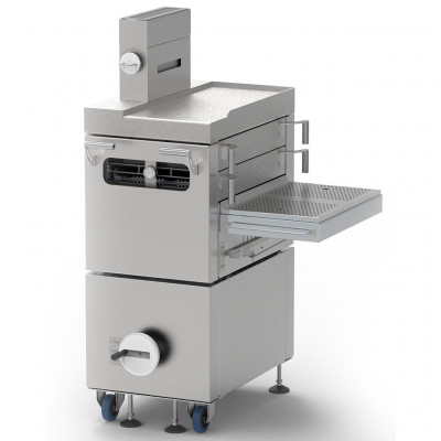 X-OVEN BURGER MACHINE charcoal oven right