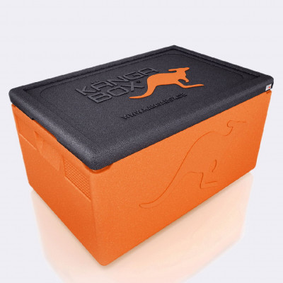 Kängabox thermobox Expert mini orange