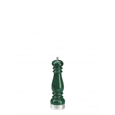 Chiarugi Salt mill Green Color, Silver Plated Brass